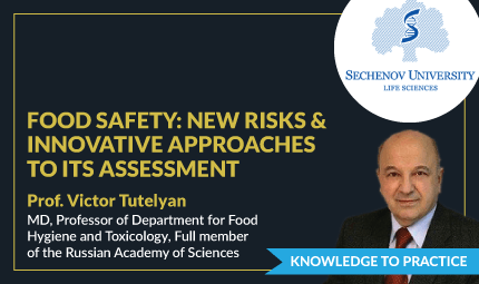 Food Safety: New Risks And Innovative Approaches To Its Assessment