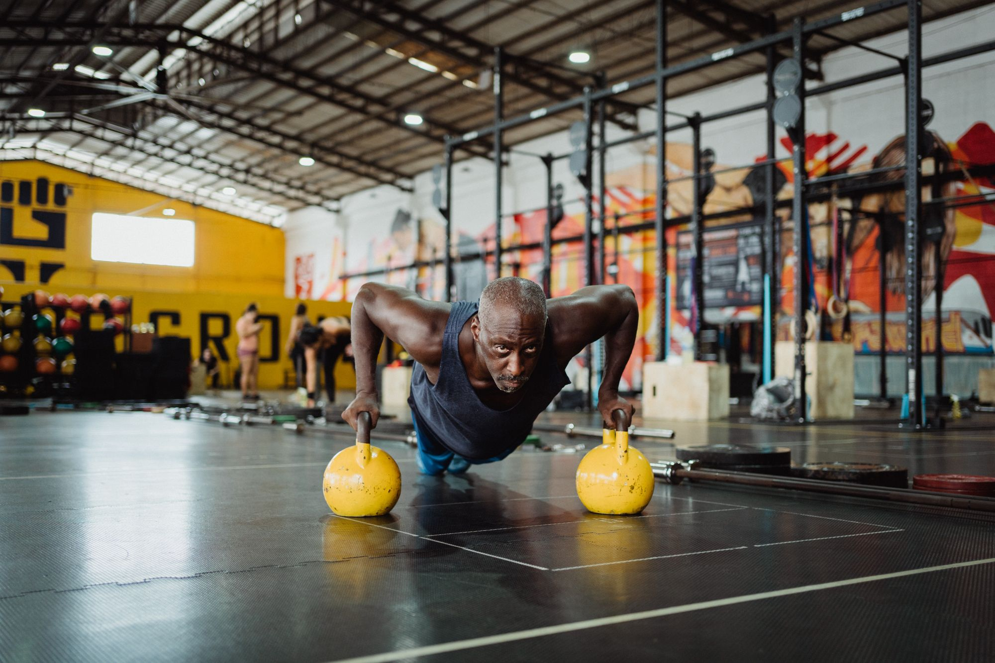 What keeps men younger? Exercise or testosterone treatment?