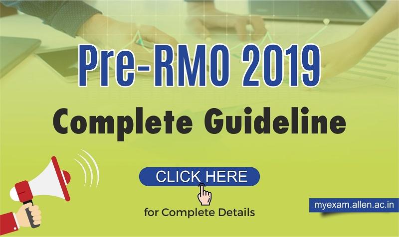PRMO 2019 Exam Pattern | PRMO Details