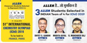 ALLEN Students Outshine in International Chemistry Olympiads IChO 2019