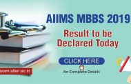 AIIMS MBBS 2019 Result to be declared today: Check complete details