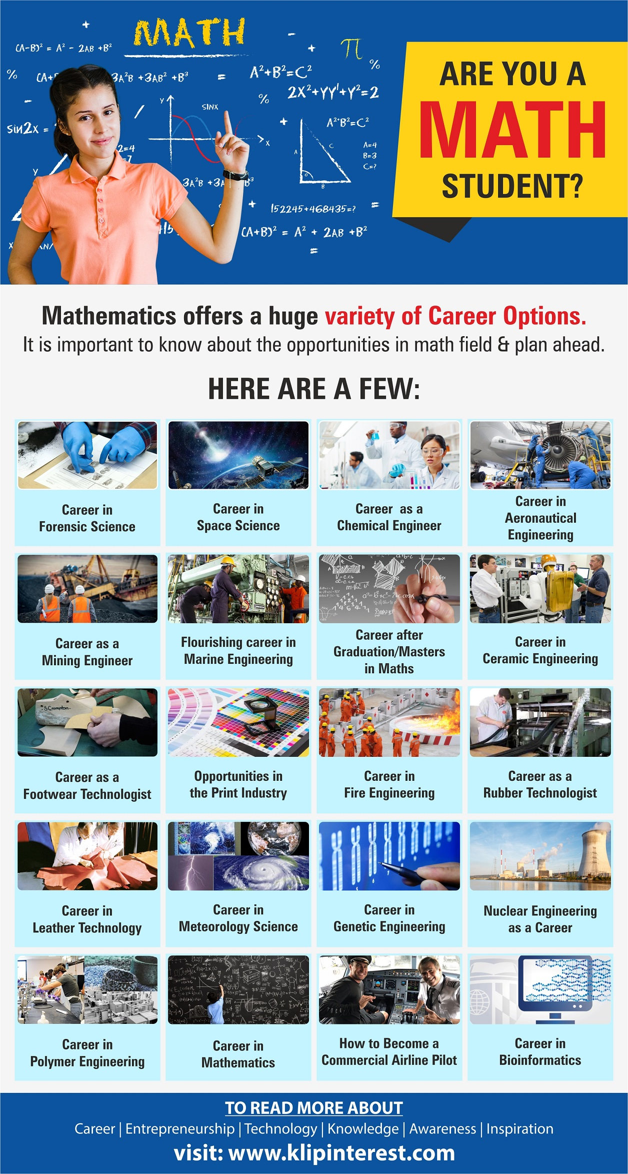 career options available to maths students after 12th