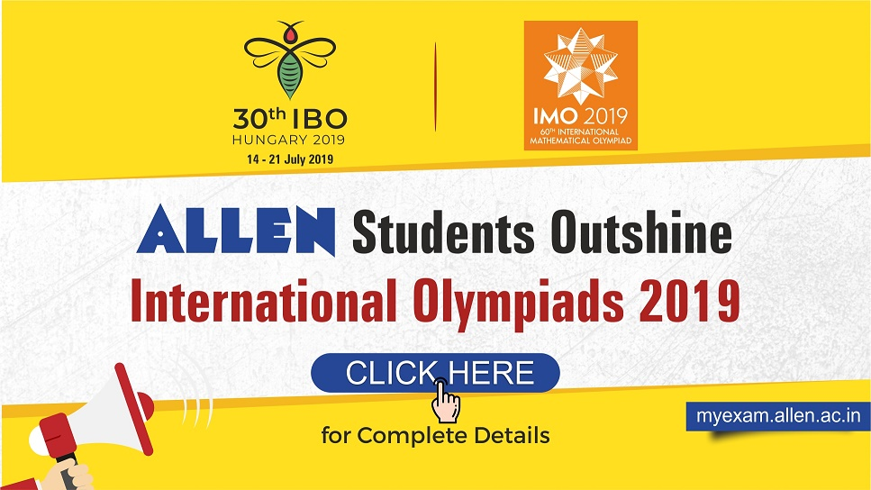 Students of ALLEN Career Institute bagged Silver Medals in IMO & IBO