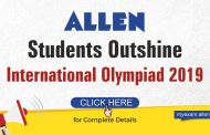 Students of ALLEN Career Institute bagged 2 Gold & 1 Silver Medal in IChO 2019