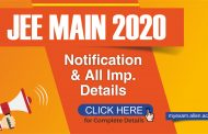 JEE Main 2020 Application Process to begin soon. Check JEE Main Important Dates