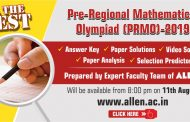 PRMO 2019-20 Answer Keys & Paper Solutions, Video Solutions & Selection Predictor by ALLEN Career Institute