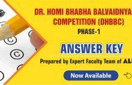 Download DHBBC 2019 Answer Keys prepared by ALLEN Experts | Dr. Homi Bhabha Balvaidnyanik Competition