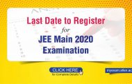 Last date to register for JEE Main 2020 Examination- Check the details here