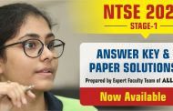 NTSE 2020 (Stage 1) Answer Keys & Paper Solutions (All States) by ALLEN Career Institute