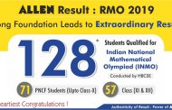 128 Students of ALLEN Career Institute outshine in RMO 2019 Result