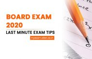 Board Exam 2020- Most Effective Last Minute Exam Tips