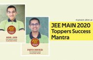 Success Mantra of JEE Main 2020 (Jan. Attempt) Toppers.