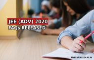 JEE Advanced 2020 FAQs released – Tie-breaking rule, eligibility of foreign students declared