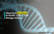Important revisions in the syllabus of  NCERT 11th & 12th Biology Subject.