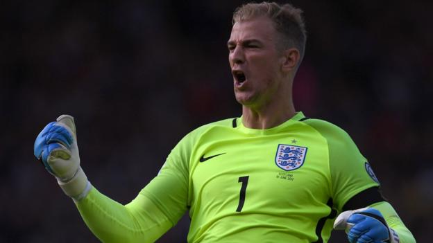 England's Goalkeeper, Joe Harts Opts To Play  Cricket Over Football