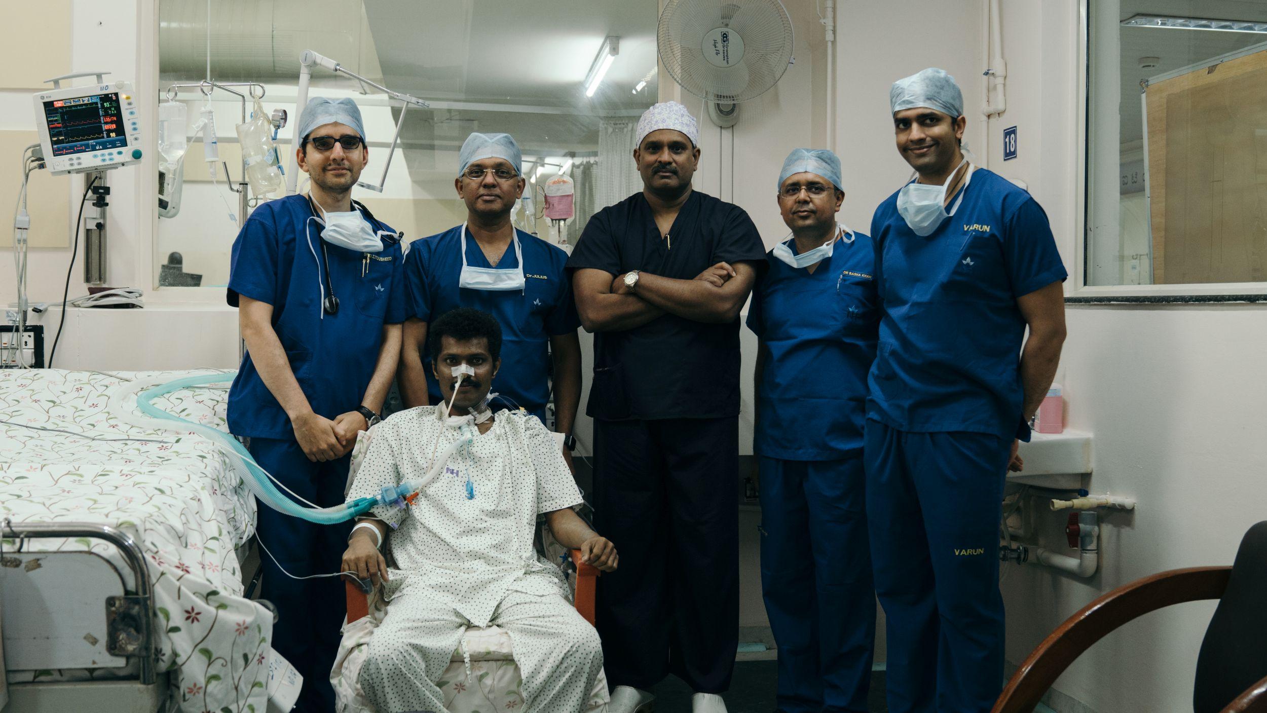 NARAYANA HEALTH CITY PERFORMS KARNATAKA'S FIRST DOUBLE LUNG TRANSPLANT