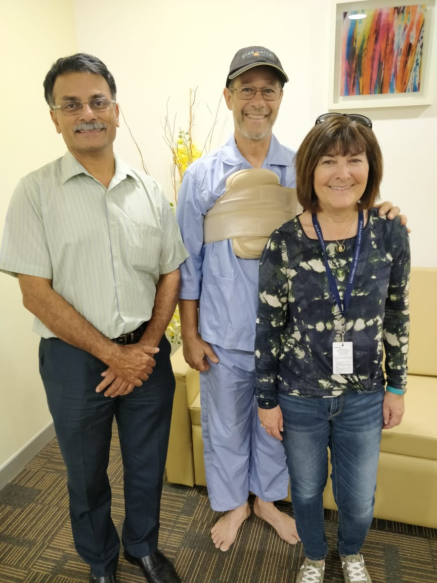 Columbia Asia Hospital Sarjapur performs a rare heart surgery on a U.S. citizen
