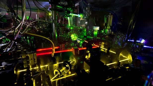 NIST Build Atomic Clocks accurate enough to measure changes in Spacetime
