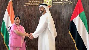 India & UAE Ink Down MoUs for Project in Third Country