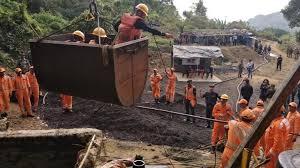 15-Odd Coal Miners were Trapped in Ksan Area of Meghalaya