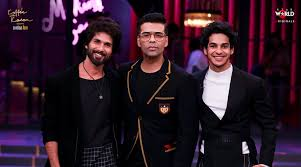 Shahid Kapoor and Ishaan Khatter On Koffee Couch With Karan