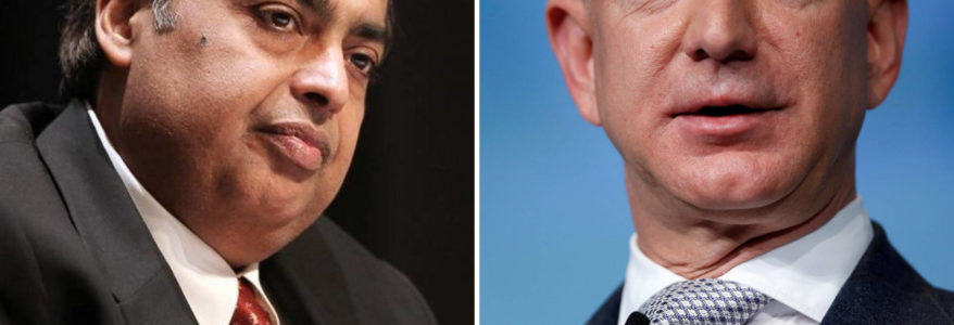 Dominating The Indian E- commerce, Jeff Bezos- Ambani Face off