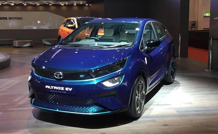 Tata Altroz EV Unveiled By Ratan Tata At The Geneva International Motor Show 2019