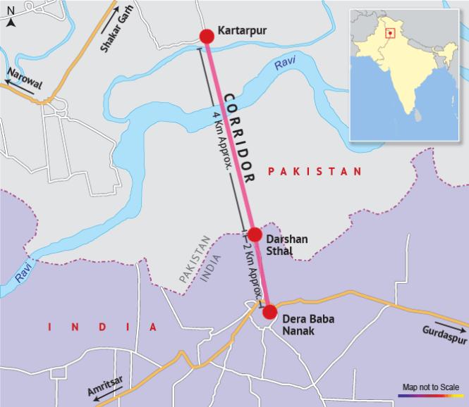Kartarpur Corridor: India, Pakistan To Hold First Meeting