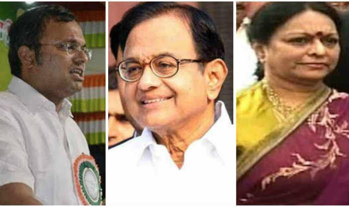 SC Seeks Response From Chidambaram's Wife, Son In Black Money Case