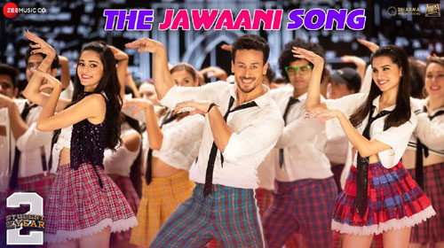 The Jawani Song From SOTY 2 Out Now, The Stage Seems To Be Set On Fire