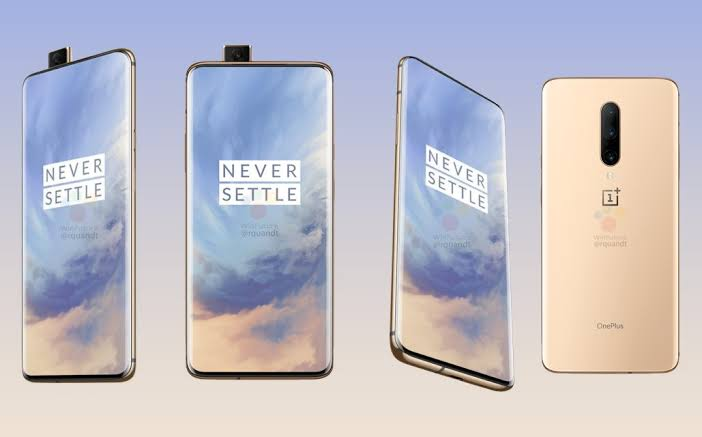 OnePlus 7 Pro Render Leak Reveals Almond Colour Variant