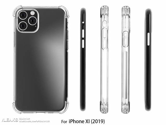 Apple iPhone XI Case Renders Show Large Square- Shaped Camera Bump