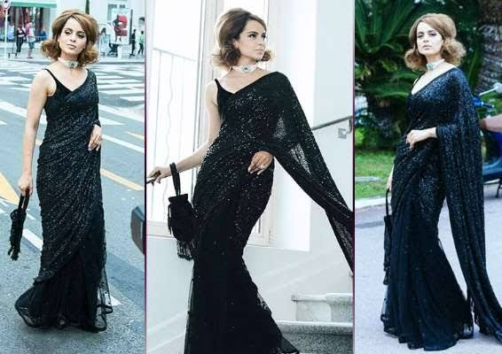 Kangana Ranaut Is All Set For The 72nd Cannes Red Carpet In A Saree This Year