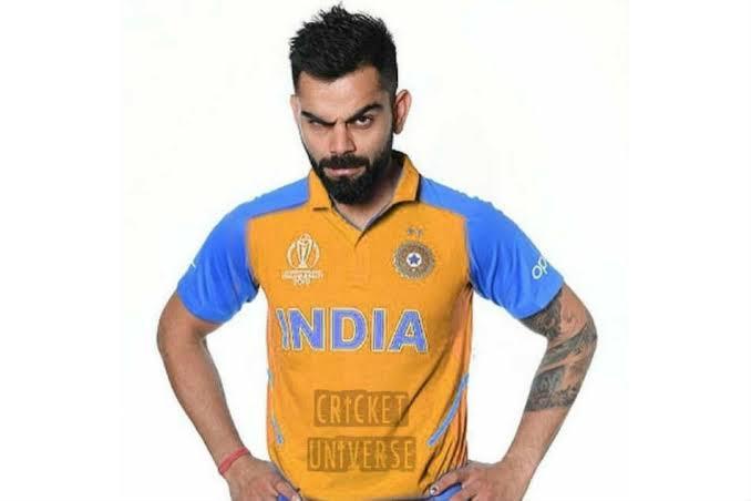 Cricket Team India To Wear Orange Jerseys Against England On June 30 Match