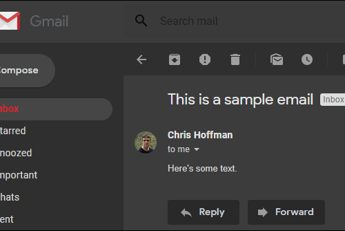 Gmail For Android Is To Get A Dark Mode