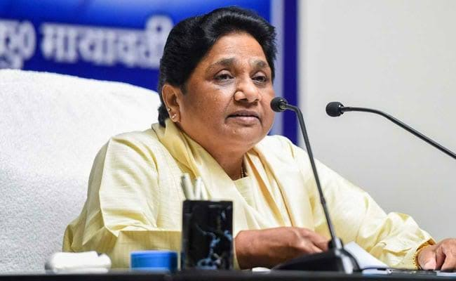 Mayawati Defocuses From Promise, Gives Major BSP Posts To Brother, Nephew