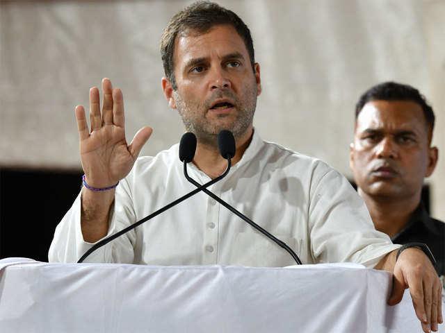 Congress Denies Demanding Of Front Row Seat For Rahul Gandhi In Lok Sabha