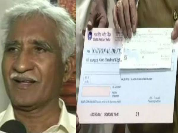 IAF Retired Airman Donates Over ₹1 Crore To Defence Ministry