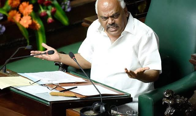Karnataka Speaker Displeased Over Near Empty Treasury Benches At Karnataka Vote Trust