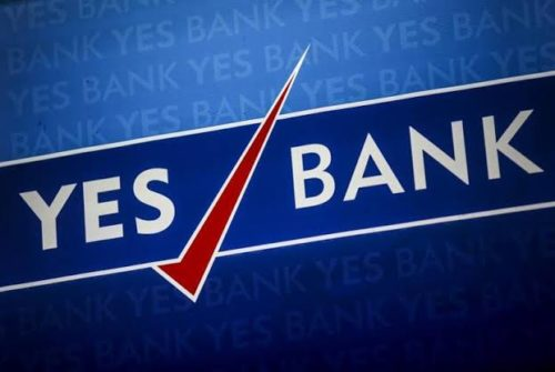 Yes Bank Shares Go High As Sensex Recovers Over 300 Points From Low