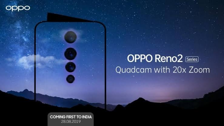 OPPO Reno 2 Series To Launch In India On Aug 28th