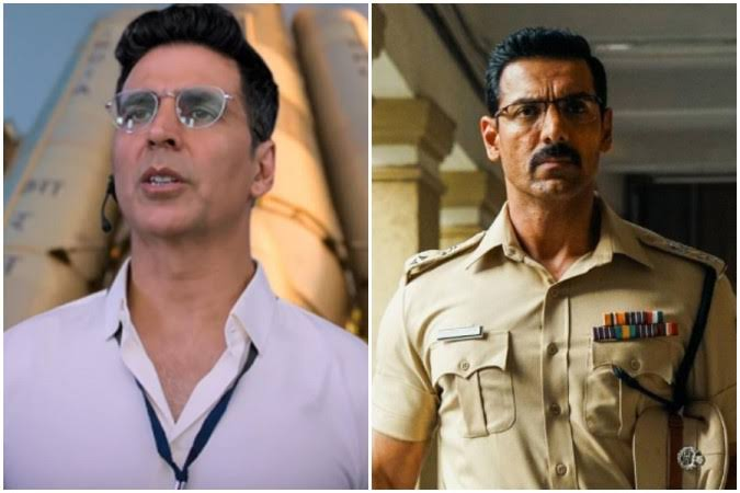 Mission Mangal And Batla House Make A Great Start Over The Week, Akshay Kumar Film Set To Cross Rs 100 Cr, John Abraham Starrer Nears Rs 50 Cr