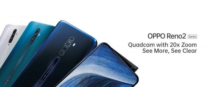 Oppo Reno 2 Leaks Are Out, Hints At 6.5-inch AMOLED Display
