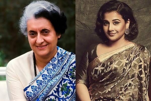 Vidya Balan Answers On Why She Chose To Play Indira Gandhi In Web Series