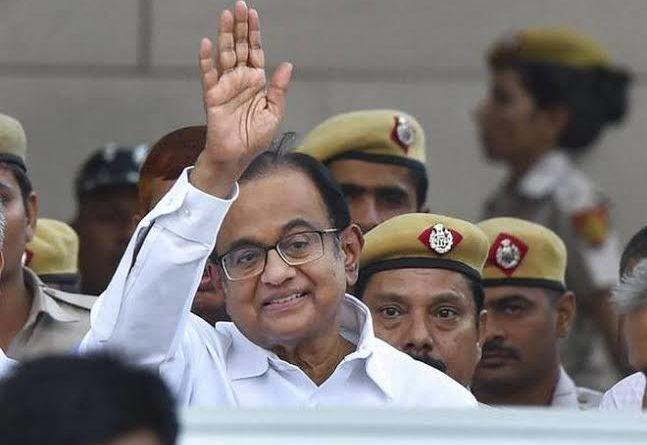 "P Chidambaram Says With Hand Gesture ""5%"", Mocks At Govt, Economy"
