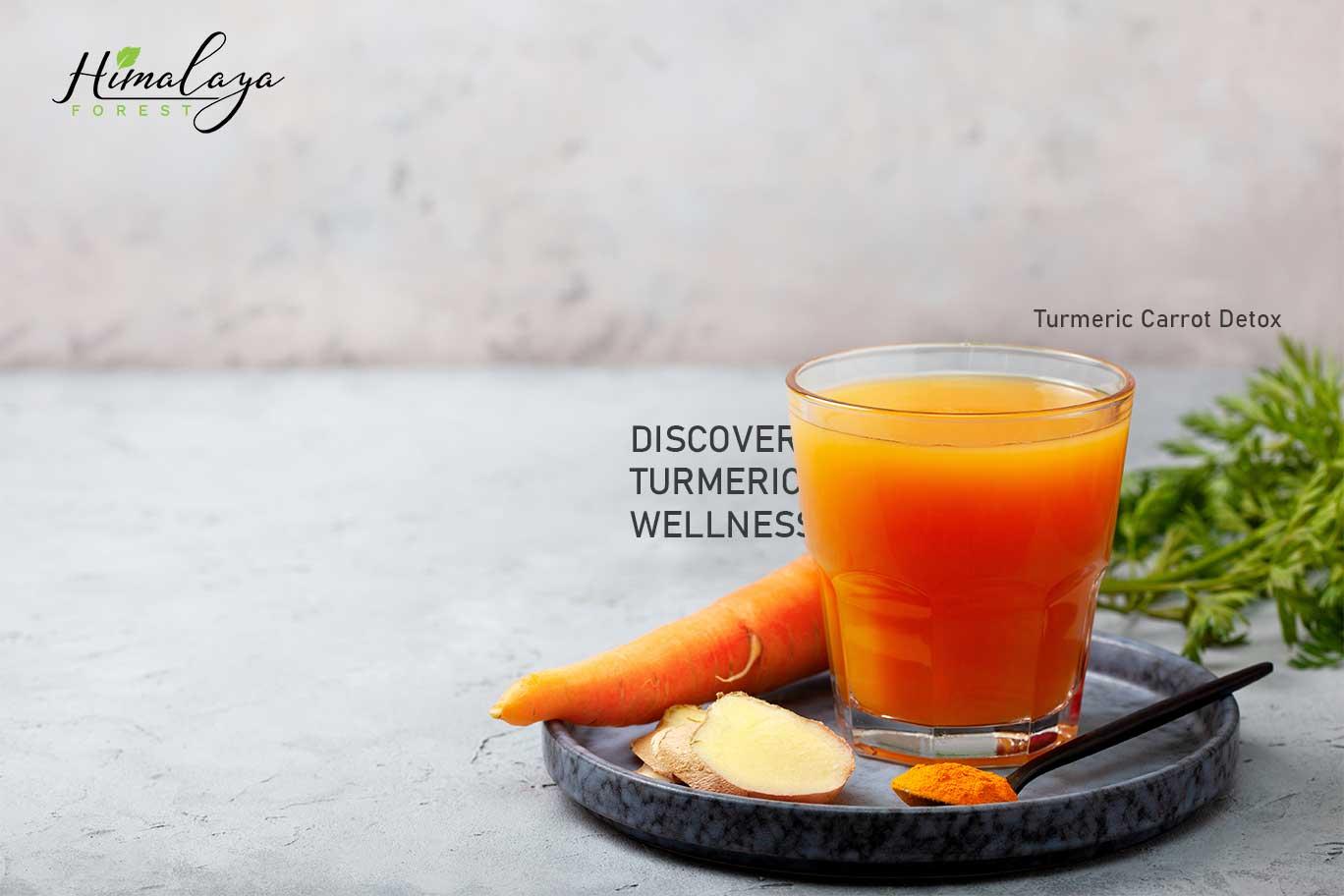 Turmeric Carrot Detox Himalaya Forest
