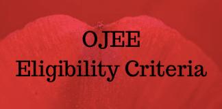 OJEE Eligibility Criteria