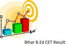 Bihar B.Ed CET Result
