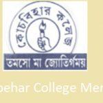 Coochbehar College Merit List