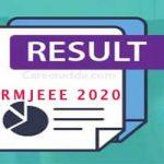 SRMJEEE Result 2020
